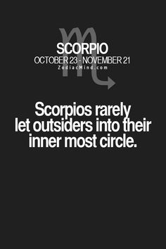 Zodiac Mind - Your source for Zodiac Facts : Photo All About Scorpio, Scorpio Zodiac Facts, Scorpio And Cancer, Astrology Scorpio, Scorpio Traits, Scorpio Love, Scorpio Quotes, Zodiac Mind, My Zodiac Sign