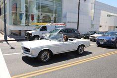 Harry driving in LA 27.04.2015