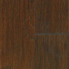 """Picture of Mannington Inverness Black Isle Hickory - Timber 5"""", call for pricing, dark brown hardwood, wide plank, 25 year warranty"""