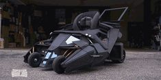Remember being insanely jealous of that little kid with the custom-made Groot swing? Well prepare to be envious of yet another toddler because the same web series responsible for that Guardians of the Galaxy swing--Super-Fan Builds--is back with a stroller designed and engineered to look exactly like the Tumbler Batmobile from the Christopher Nolan Dark Knight trilogy.
