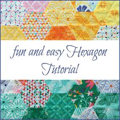 Allie and me design: fun and easy Hexagon ★ Tutorial
