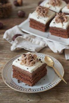 Leckeres Schoko Maronischnitte Rezept von Sweets & Lifestyle®️️