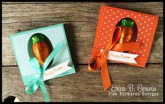 Pink Buckaroo Designs: Carrot Easter Treat Video Tutorial
