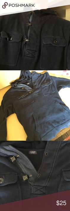 J. Crew Navy Blue Sweatshirt Great Condition, no marks or stains J. Crew Shirts Sweatshirts & Hoodies