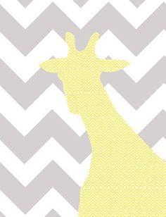 Free Printables: Giraffe Head | If These Walls Could Speak: Free Printables: Giraffe Head