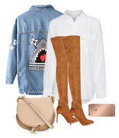"""""""Untitled #47"""" by xohenderson on Polyvore featuring Chicnova Fashion, Equipment, Sergio Rossi, Chloé and Mura"""