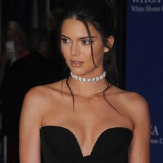 kendall-jenner-diamond-choker-getty.jpg in Vivienne Westwood at the White House Correspondent's Dinner 2016