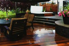 Beautiful Decking.   Supplied by Kayu Canada Inc.