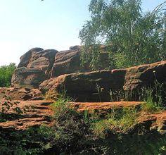 Thor's Stone, Thurstaston Common, Wirral.