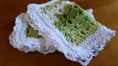 Washcloth Baby Spa Facial Cotton Crocheted