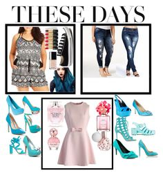 """""""These days"""" by emmiebean0630 ❤ liked on Polyvore featuring City Chic, Converse, L'Oréal Paris, Chanel, Rocks & Indigo, Boohoo, ALDO, Charles by Charles David, Qupid and Gianvito Rossi"""