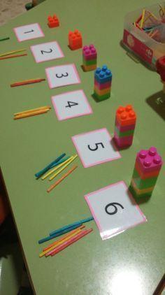 Preschool Learning Activities, Preschool Classroom, Toddler Activities, Preschool Activities, Earth Science Activities, Dinosaur Activities, Number Activities, Counting Activities, Math For Kids