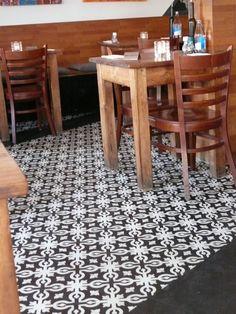MOZA cement tile Cement, Tile, Restaurant, Home Decor, Mosaics, Decoration Home, Room Decor, Diner Restaurant, Tiles