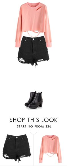 """Sin título #251"" by karenrodriguez-iv on Polyvore featuring moda y Boohoo"