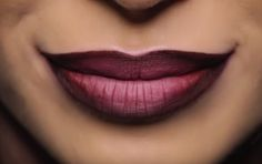 Aprenda a fazer uma boca ombré em três passos