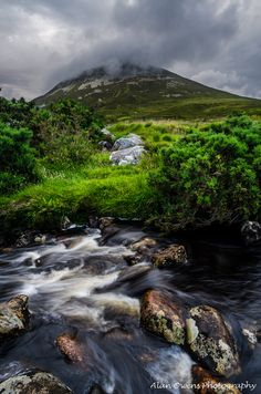 Below Errigal, County Donegal