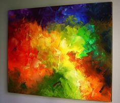 Oil Painting on Canvas 30x24 Original by EugeniaAbramsonArt