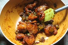 Prawn Manchurian Recipe - Chilli Prawn Manchurian Dry Recipe - Yummy Tummy Prawns Roast, Prawns Fry, Chilli Prawns, Spicy Prawns, Grilled Prawns, Prawn Fried Rice, Green Chilli Sauce, Prawn Masala, Manchurian Recipe