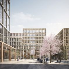Norwegian Government Headquarters aka Adapt, Oslo, Norway, by Team Urbis (Nordic Office of Architecture & Haptic) Architecture Office, Architecture Design, Architecture Diagrams, Architecture Portfolio, Oslo, Architecture Visualization, Building Facade, Facade Design, Urban Planning