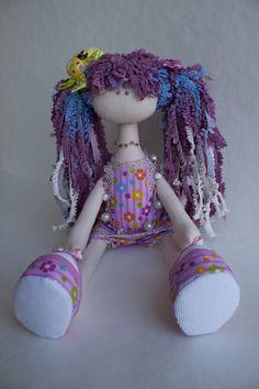 Mimin Dolls: menina lilás