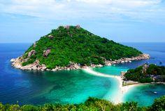 Фотография острова Таиланда Нанг Юань