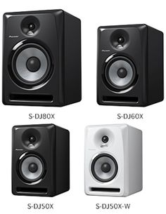 Pioneer S-DJ X Active Monitor Speakers