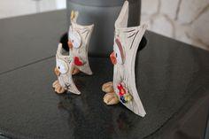 Deko-Objekte - Eulenfamilie - ein Designerstück von ThoLiKo bei DaWanda