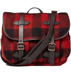 345c1e1d8d7a Men s Designer Bags. Porter BagBuffalo CheckBuffalo PlaidTartan PlaidTweed Bag AccessoriesCute Messenger BagsCamp OutfitsWool