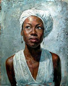 Portraits of African Women by Tim Okamura