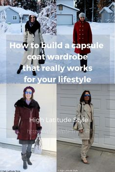 #AgelessStyle How to build a capsule coat wardrobe that really works for your lifestyle