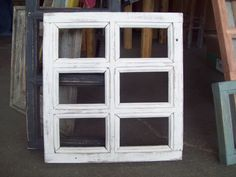 5x7 Weathered Window Pane Picture Frame