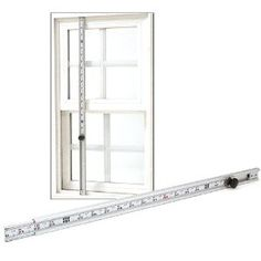 """CRL 60"""" - 119"""" Accu-Rule Measuring Rod by CRL. $72.87. Take quick, accurate window and door frame measurements with the CRL Accu-Rule Measuring Rod. Especially helpful for long or tall measurements, where common tape measures may bow or bend. The Accu-Rule is a two-piece heavy extruded aluminum telescoping slide with an accurate tape measure permanently affixed to the inner slide. What makes this tool exceptionally helpful for the window and door installer is the..."""