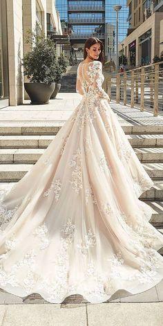 3993c05fb Vestidos para novia elegantes Vestido Para Boda 2019