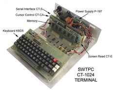 CT1024 Terminal System that I built.