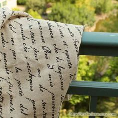 Fabric - SALEFrench Style Home Decor Natural Raw Linen by stefaniexu, $7.00