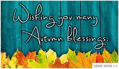 AutumnBlessings