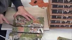 výroba drevených kociek s obrázkami - YouTube