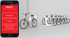 Harvolt electric bike share system by  Matthew Harding