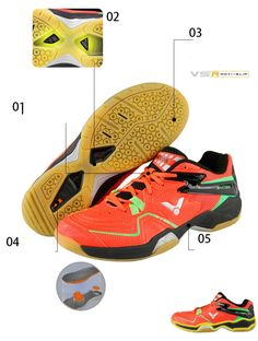 44f04ee54cb Genuine Victor Brand Badminton Shoes 2018 Wear-resistant  tennisshoes   sportshoes