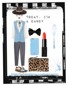 """""""I'm a dandy today!"""" by lina-taylor ❤ liked on Polyvore featuring MANGO, Etro, Manon Baptiste, Closet, Clare V., Tory Burch, Mademoiselle Slassi, Violent Lips and NARS Cosmetics"""
