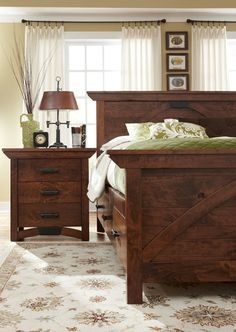 The Difficulty With Dark Furniture: Darkness   Brown furniture ...
