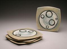 circle plates , 8 x 8 x 1/2