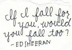 Fall - Ed Sheeran