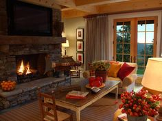 HGTV Dream Home Living Rooms : Dream Home : Home & Garden Television