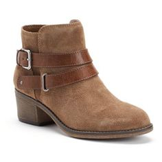 SONOMA life + style® Women's Ankle Boots --  I got these today, on sale!!  $34.99  (Can't wait to wear them!)