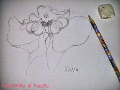 Crochet y demos: Blogersando Abril - Leyendas.....La Xana