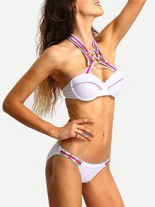 0eb660733147a Beaded Macrame Bikini Set EmmaCloth-Women Fast Fashion Online