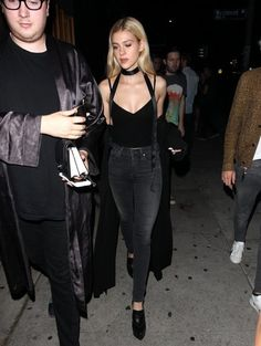 Celebs are seen leaving The Nice Guy restaurant in West Hollywood, California on August 27, 2016.