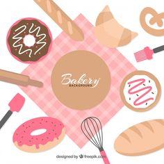Chocolate Logo, Cafe Menu Design, Bakery Business Cards, Cake Logo Design, Bakery Logo, Label Templates, Kitchen Art, Cute Stickers, Diy Painting