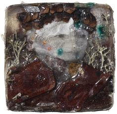 """Jälkeenpäin"" Mixed media / collage cast in plastic. 2014. Artist: Janne Martola"